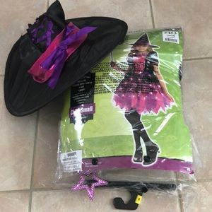 Witch halloween light up costume